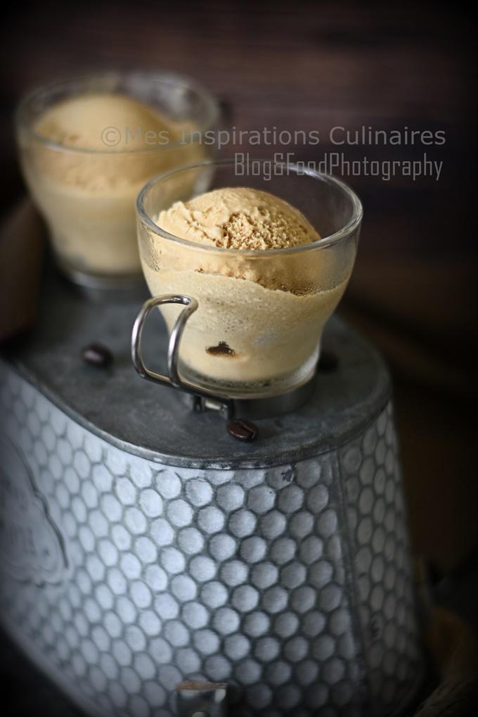 Glace au café recette facile sans sorbetière