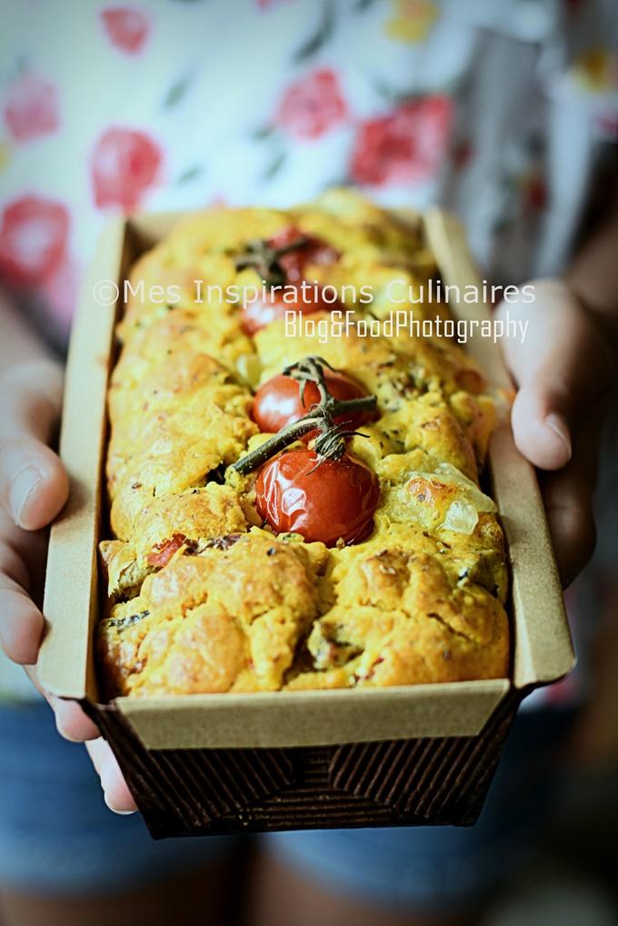 Cake aux aubergines tomate et Mozzarella