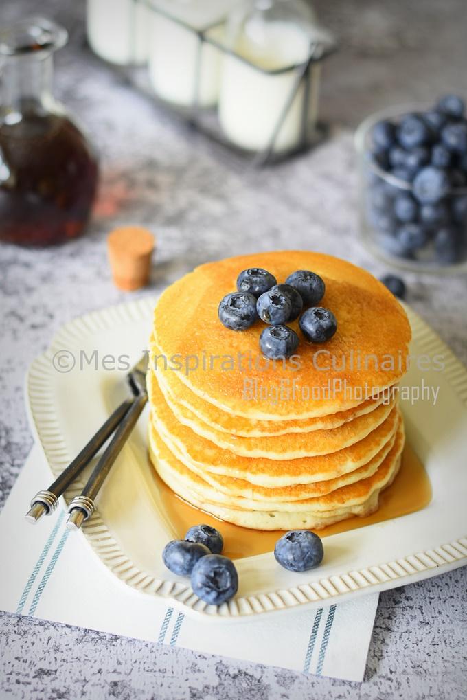 recette pancakes de cyril lignac le blog cuisine de samar. Black Bedroom Furniture Sets. Home Design Ideas