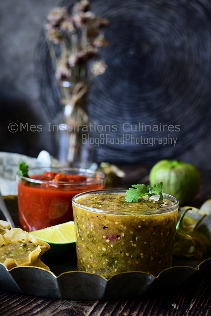 La Salsa Verde mexicaine sauce verte aux tomatillos