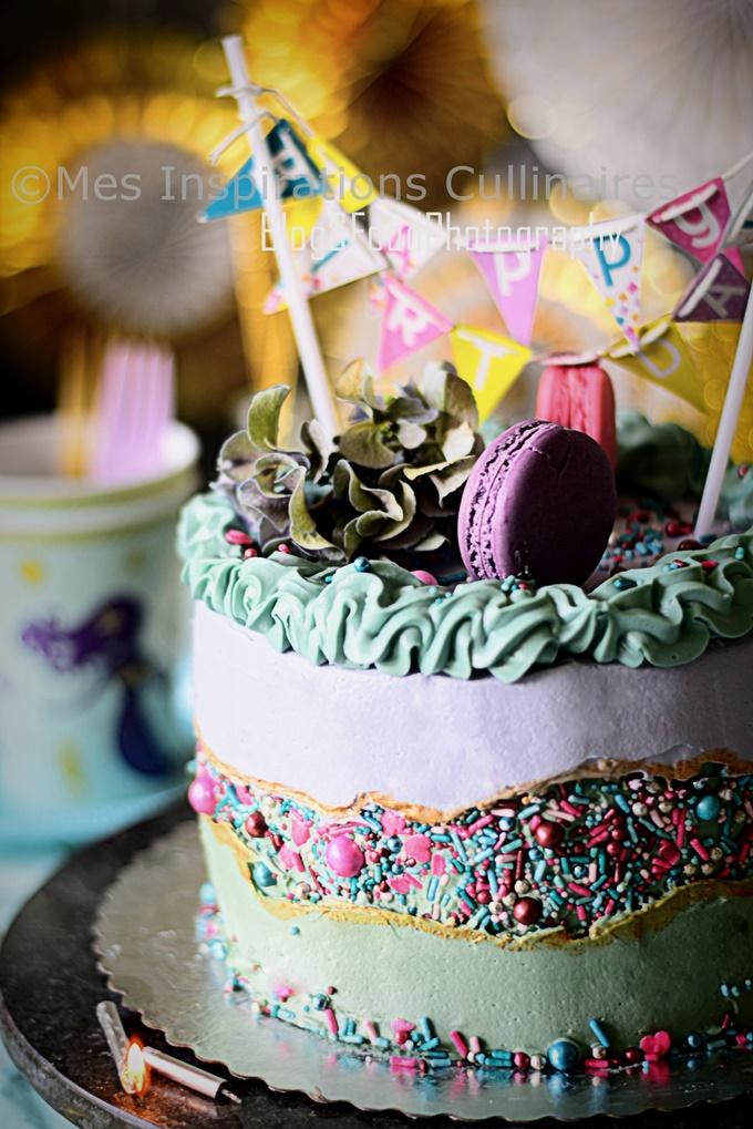 Le fault line Cake, gâteau tendance 2019