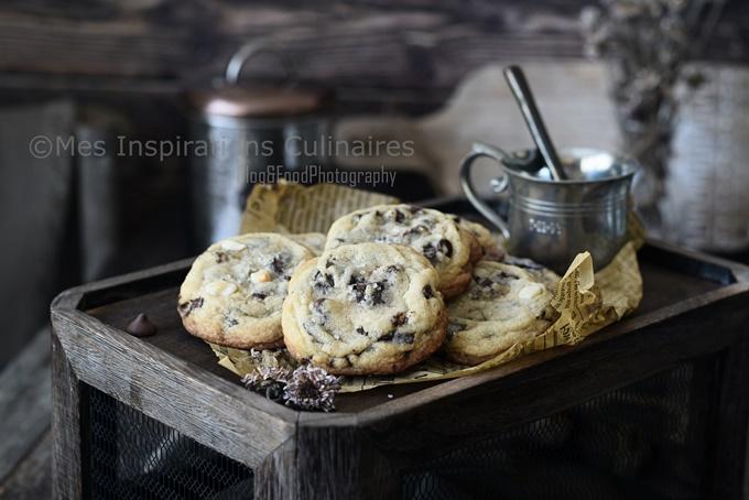 Cookies de Conticini aux pépites de chocolat
