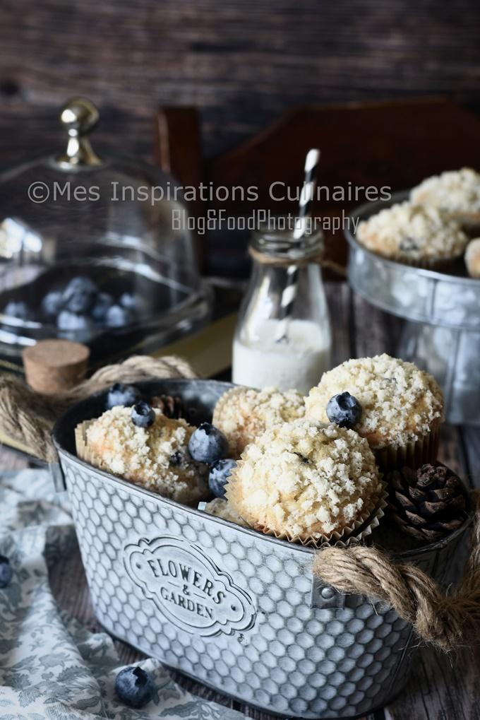 Muffins aux Myrtilles Recette de Pierre Hermé