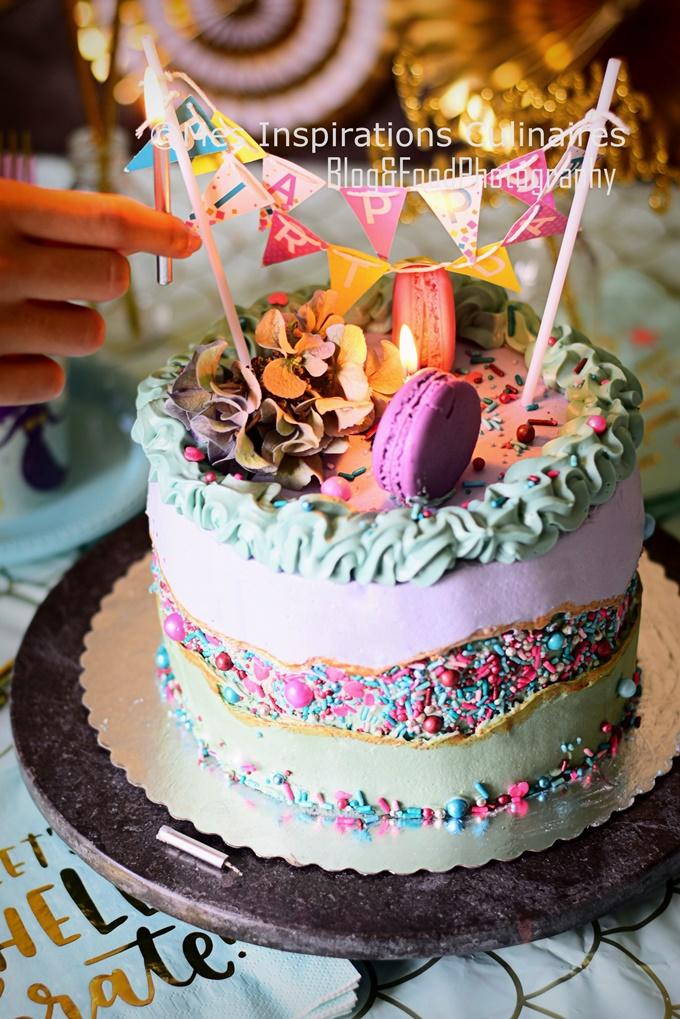 Le fault line Cake, gâteau nouvelle tendance 2019