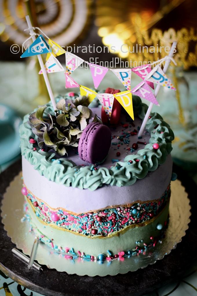 Le fault line Cake, gâteau nouvelle tendance