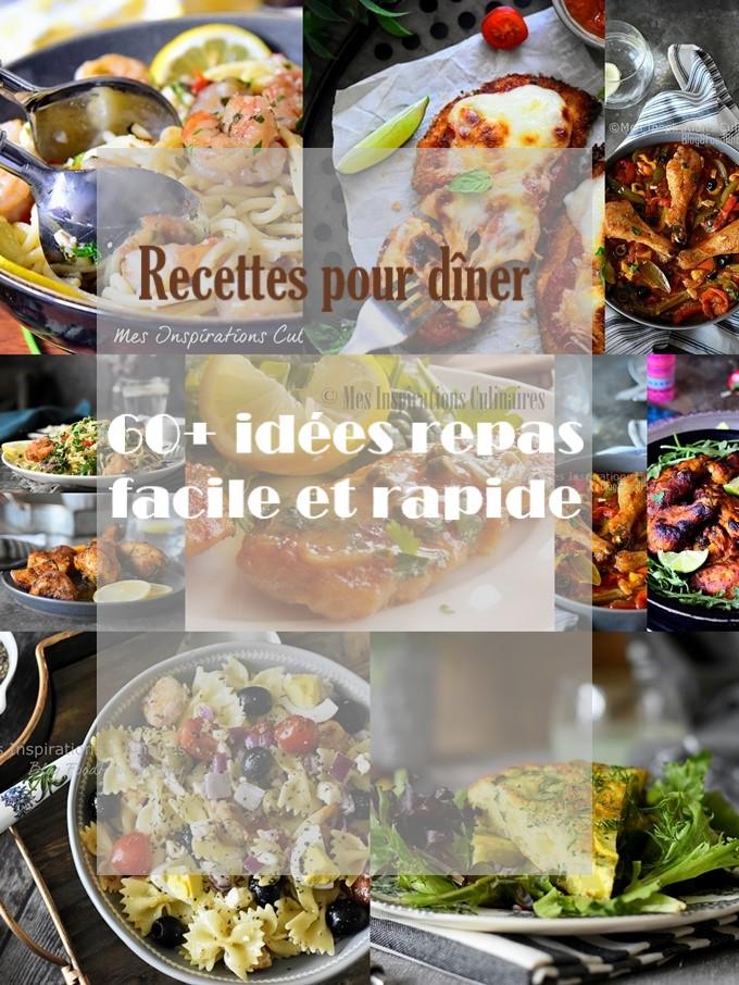 Recette Diner semaine