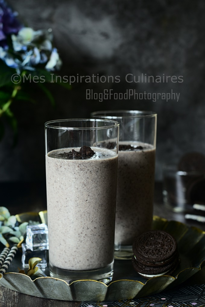 Recette Milkshake banane et Oreo