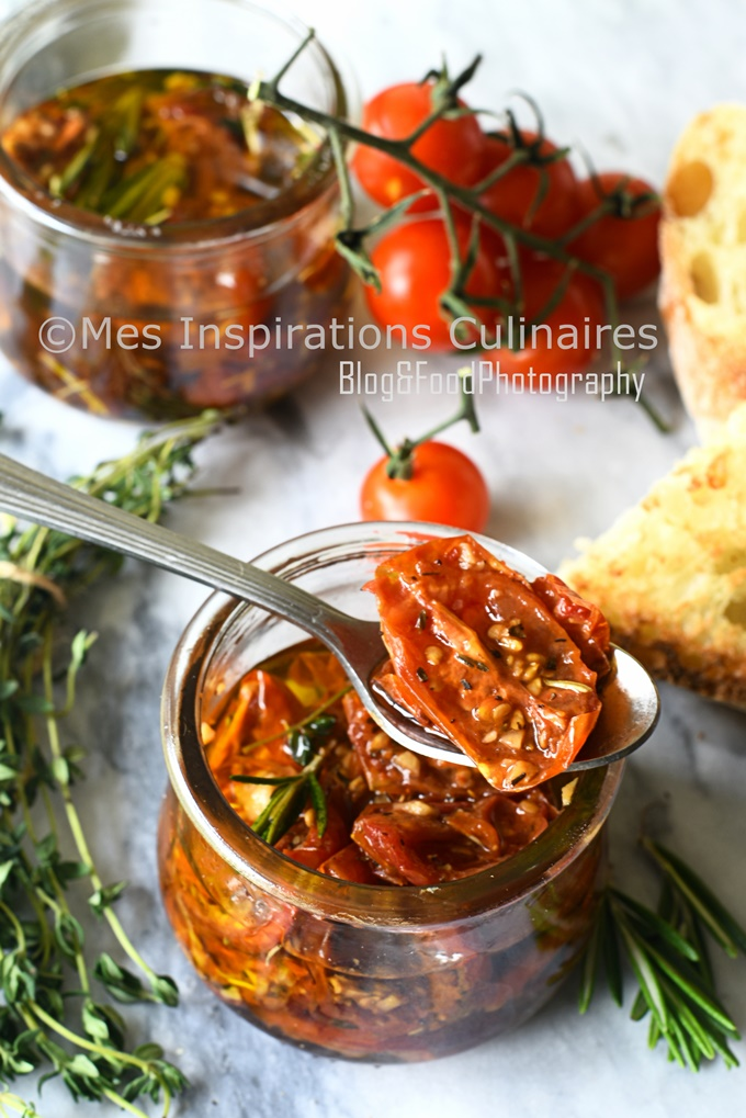 Tomates confites maison (au four)