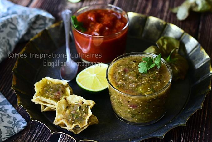Salsa Verde mexicaine aux tomatillos