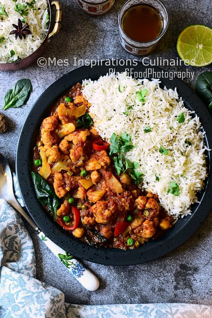 Recette curry de chou fleur cuisine népalaise