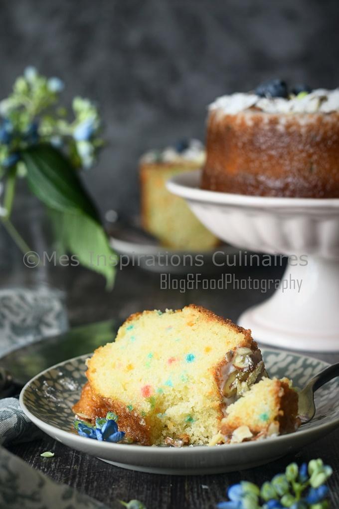 Gâteau moelleux au confetti, recette facile