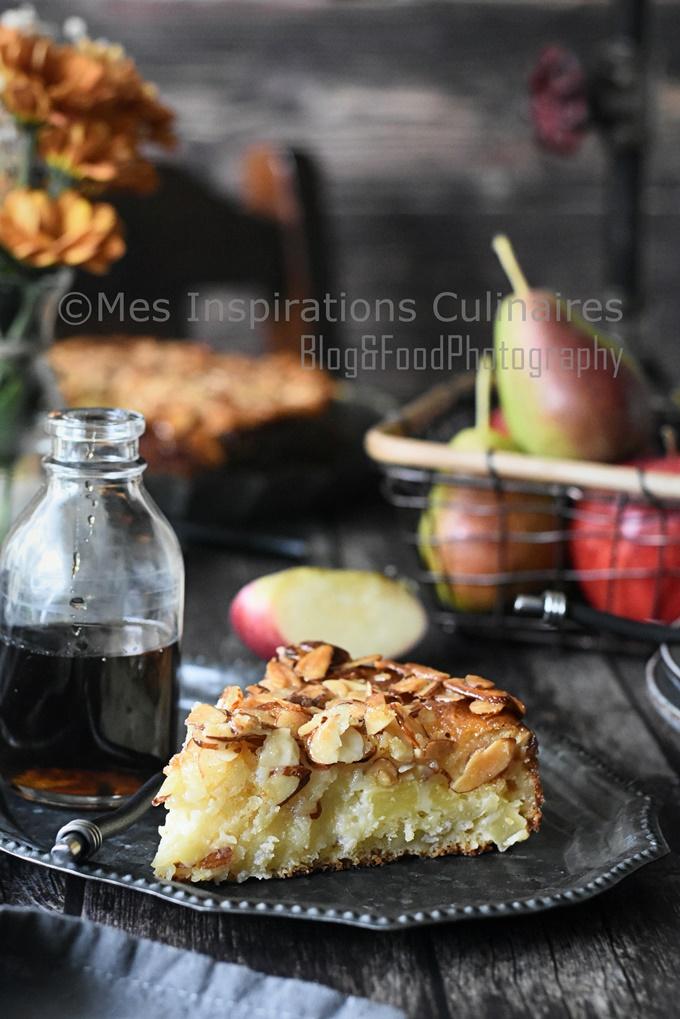 Gâteau aux pommes Bernadette ultra moelleux