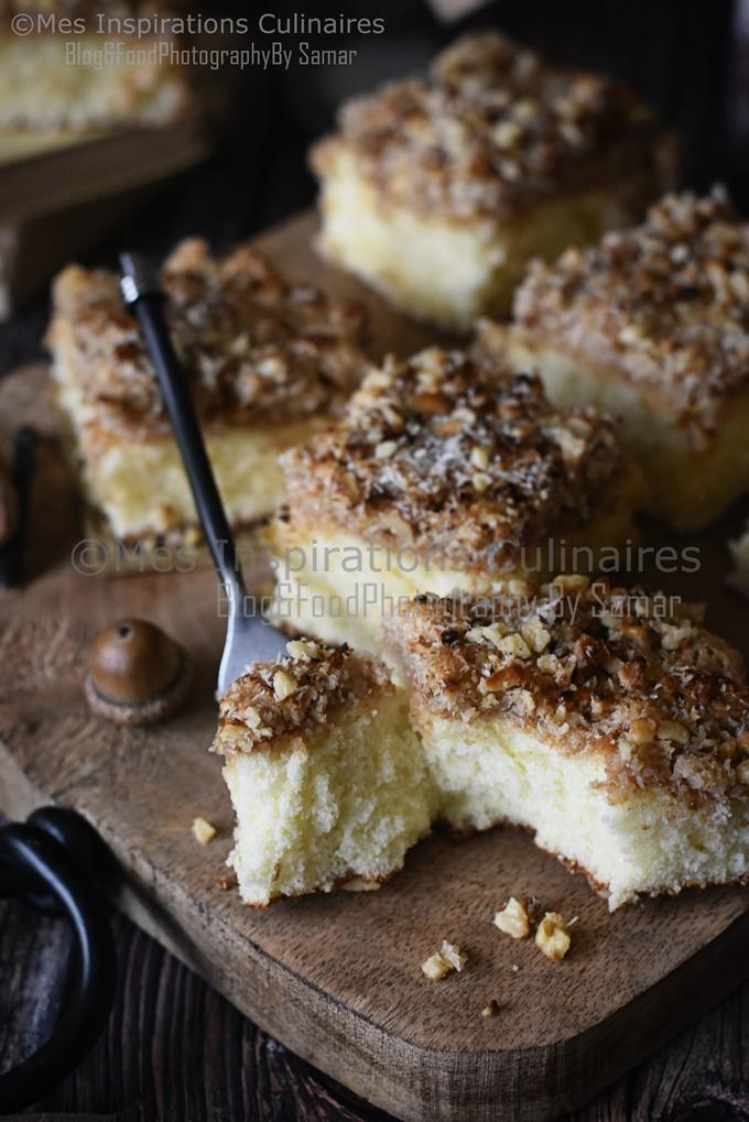 Recette Gâteau au lait chaud facile et rapide
