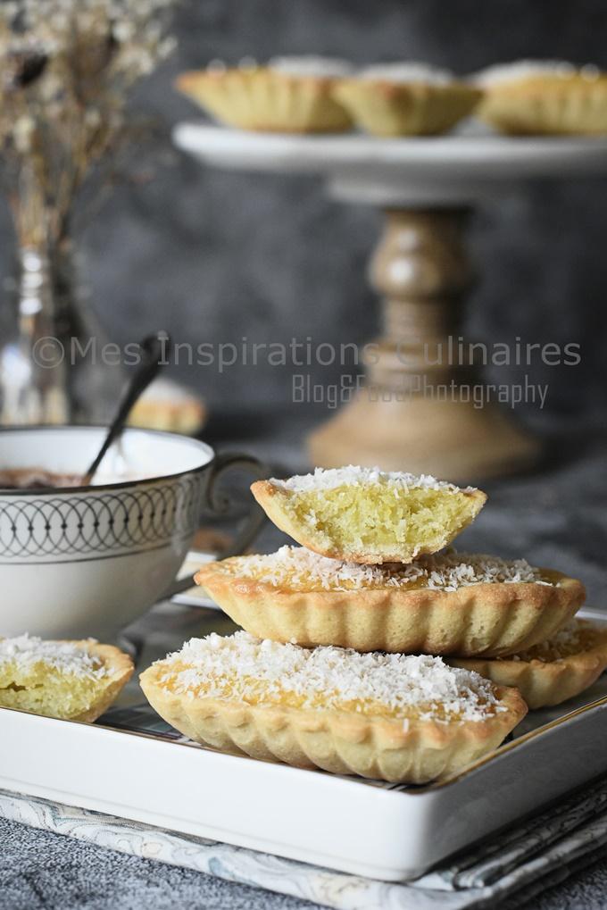 tartelettes noix de coco