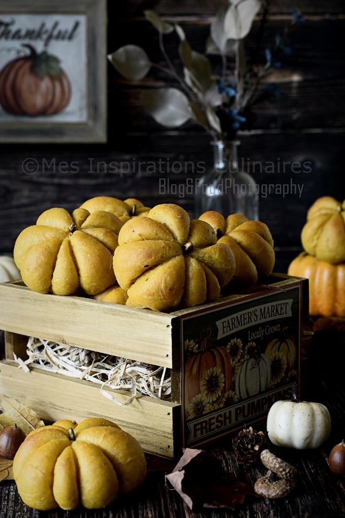 Recette Pain au potiron aux épices d'automne