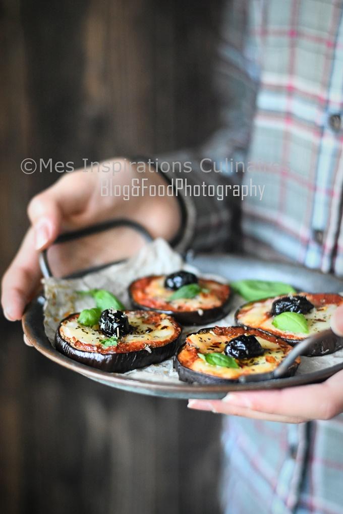 Aubergines au four, tomate-Mozzarella
