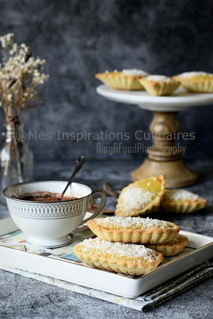 Tartelettes noix de coco, recette facile