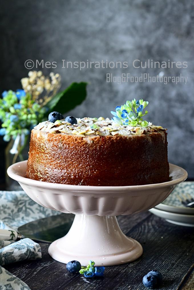Gâteau moelleux vanille et confetti, recette facile