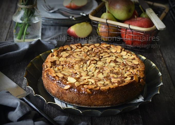 Gâteau aux pommes Bernadette