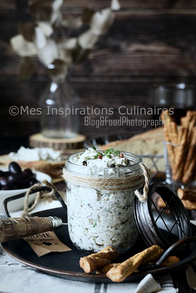 Rillettes de sardines fromage blanc