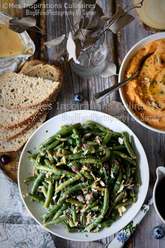 Salade de haricots verts et thon