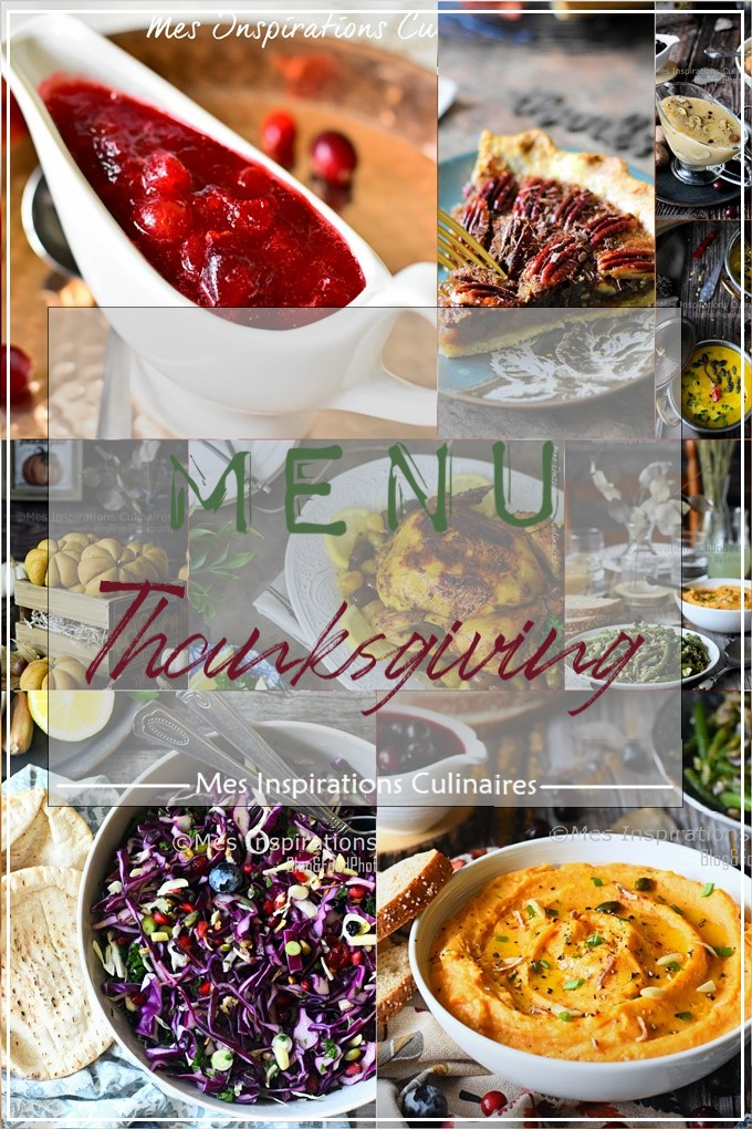 Idée menu Thanksgiving