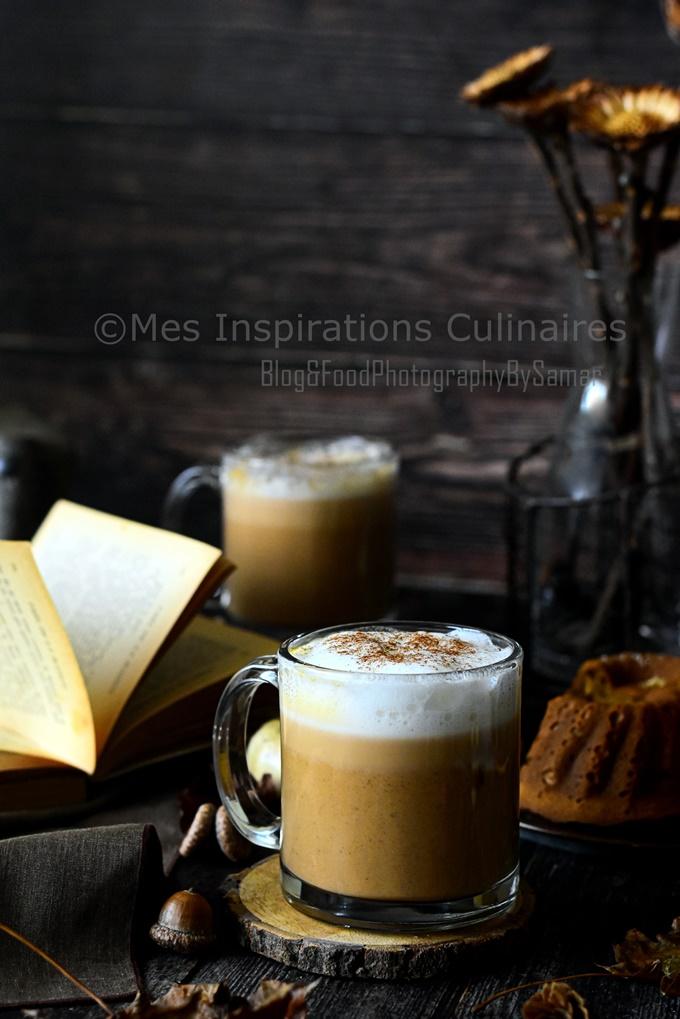 Le Café latte aux epices et courge pumpkin spice latte