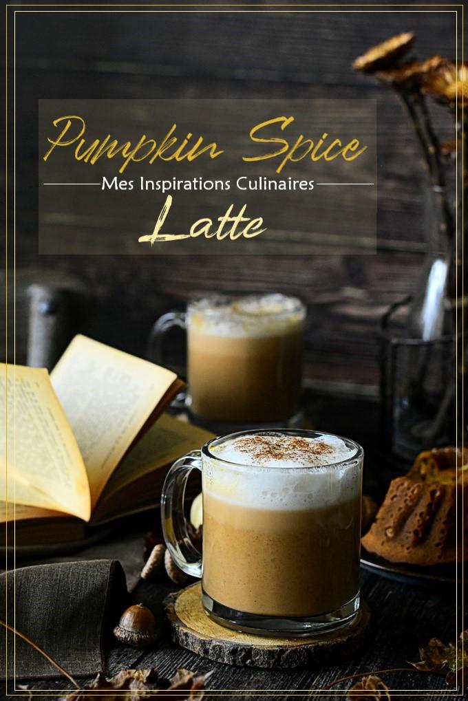 Le Café latte pumpkin spice latte