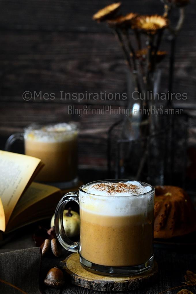 Recette Café latte pumpkin spice latte