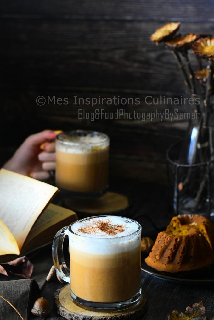 Café latte recette pumpkin spice latte