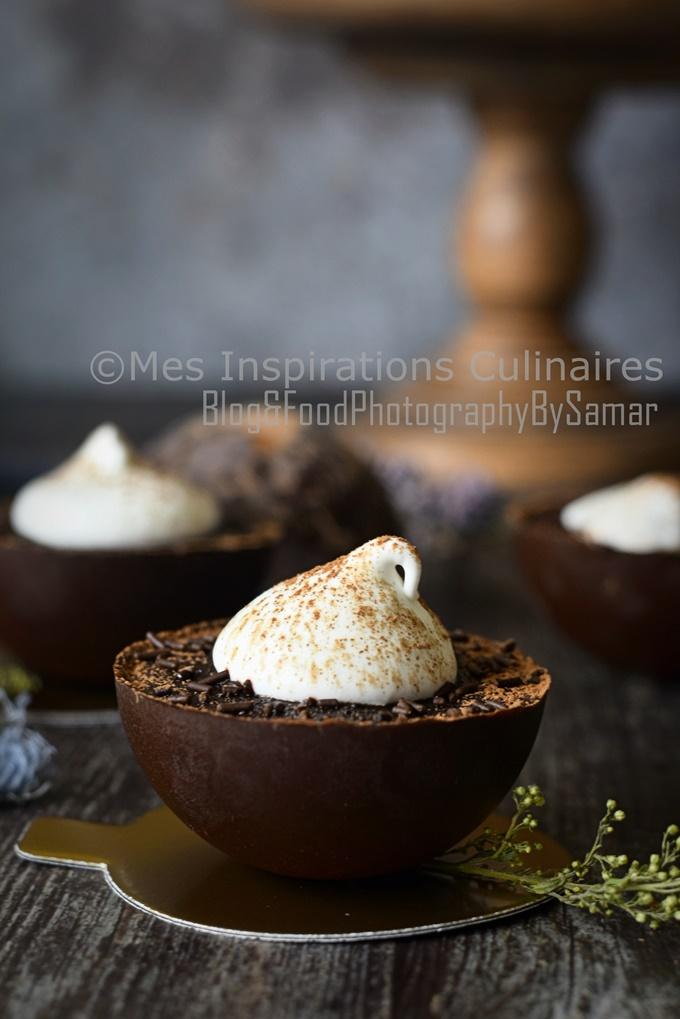 Mousse au chocolat de Alain Ducasse