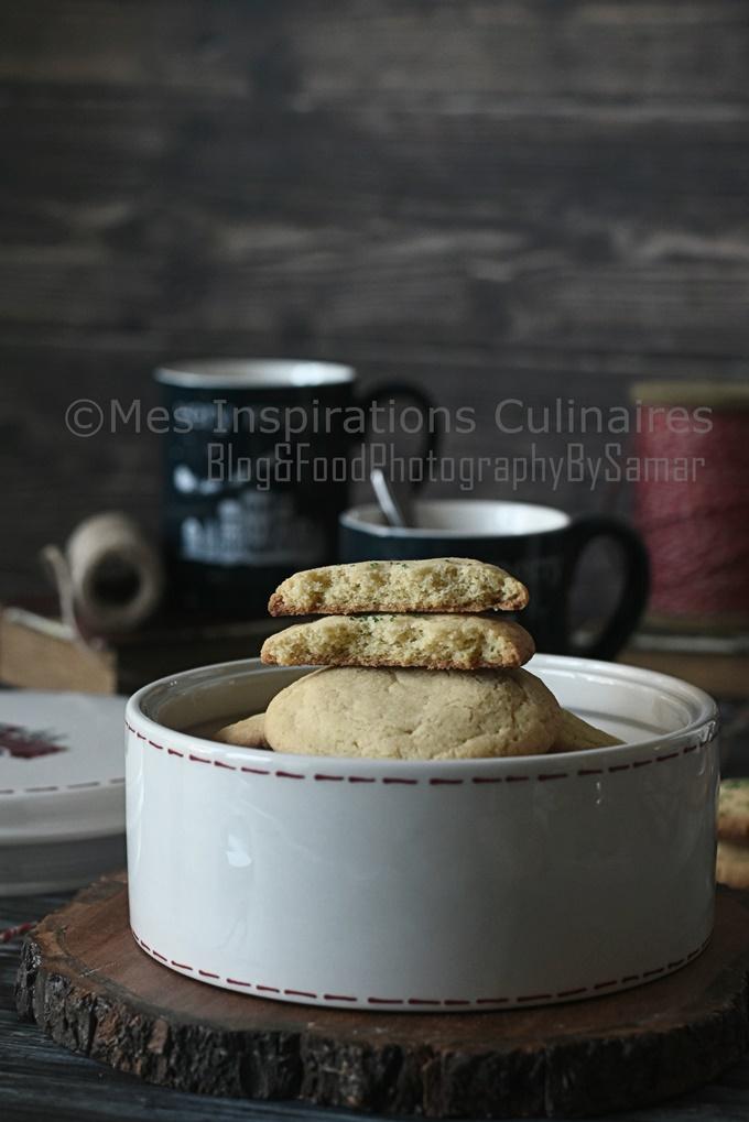 Recette Biscuits sablé à la vanille