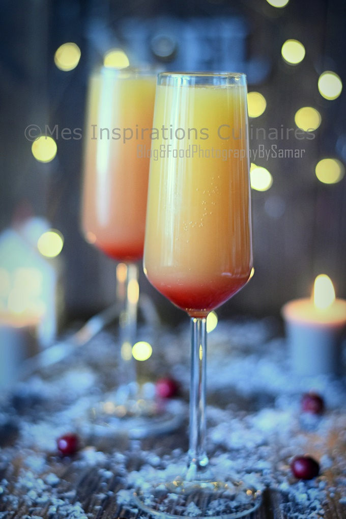 Recette Mimosa Cocktail