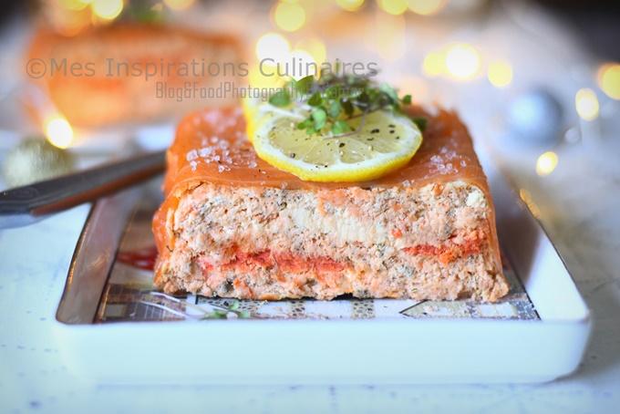 Terrine de saumon aux herbes
