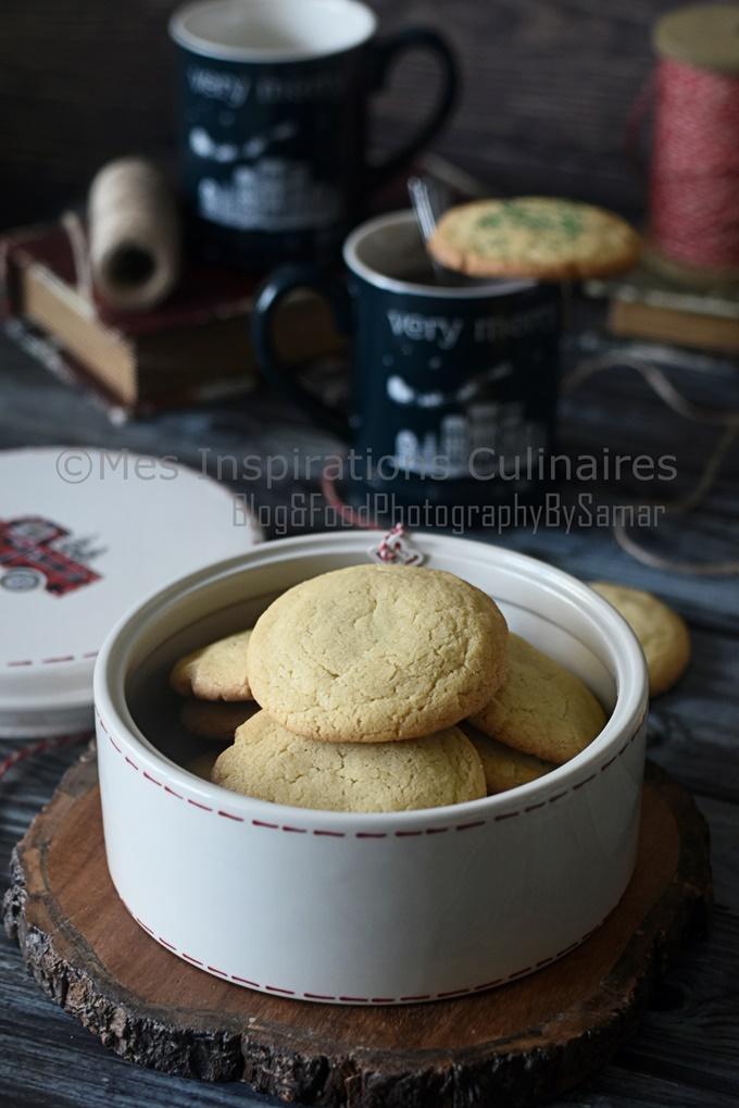 Biscuits sablé à la vanille