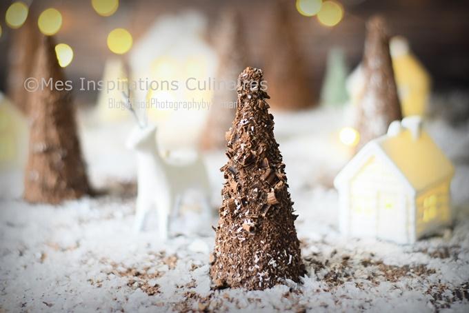 Sapin de Noël au chocolat facile