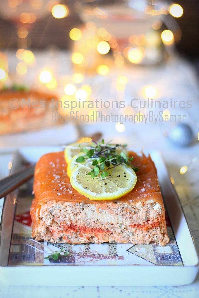 Terrine saumon frais et fumé