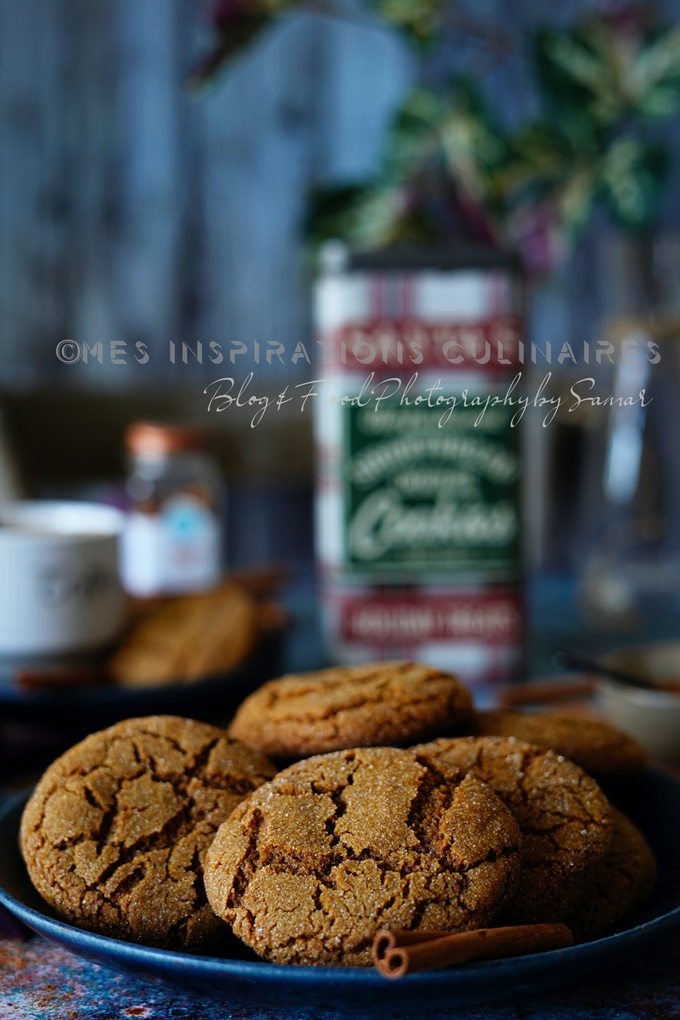 biscuits secs au gingembre