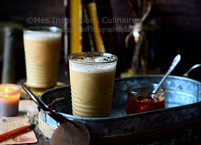 Chai latte indien maison