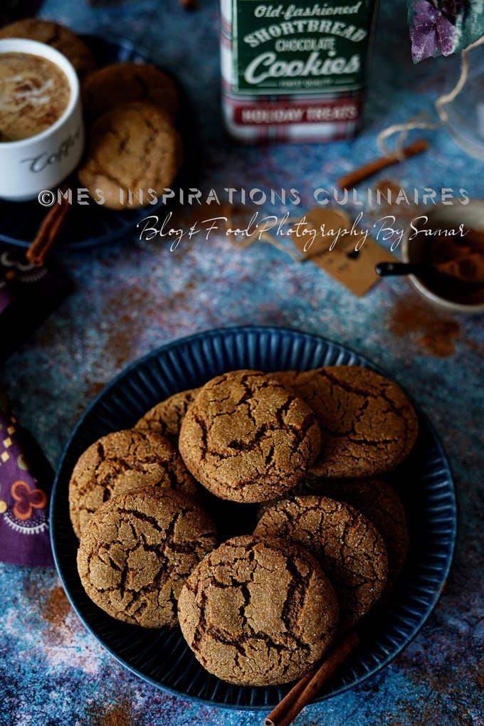 Recette biscuits au gingembre ginger snaps