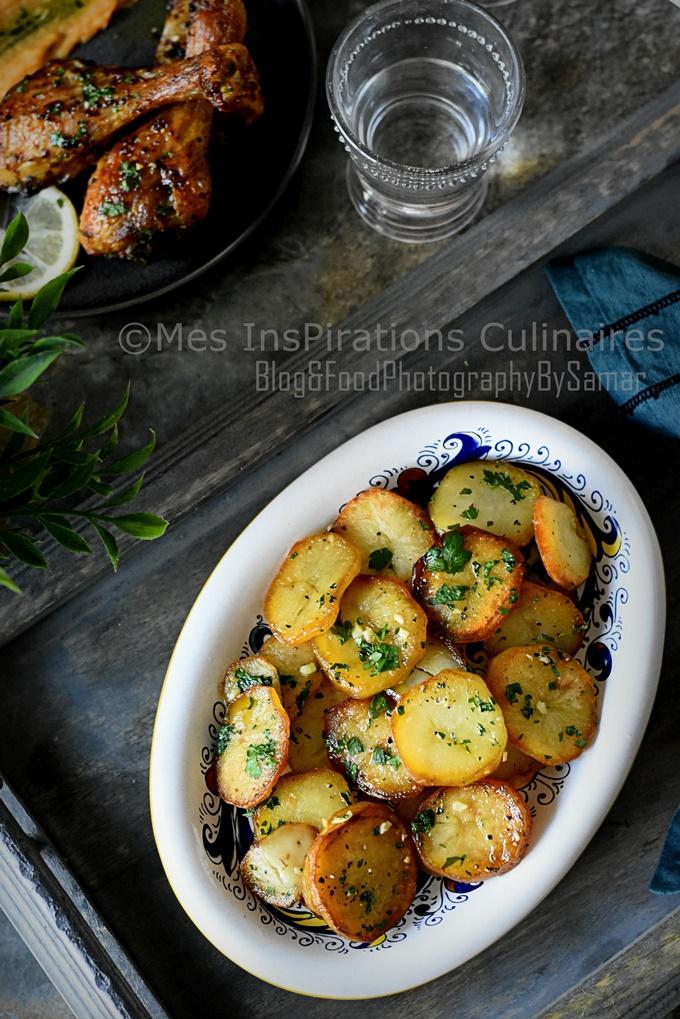 Recette pommes de terre Sarladaises