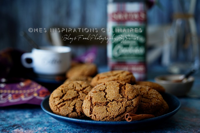 Les ginger snaps, biscuits au gingembre
