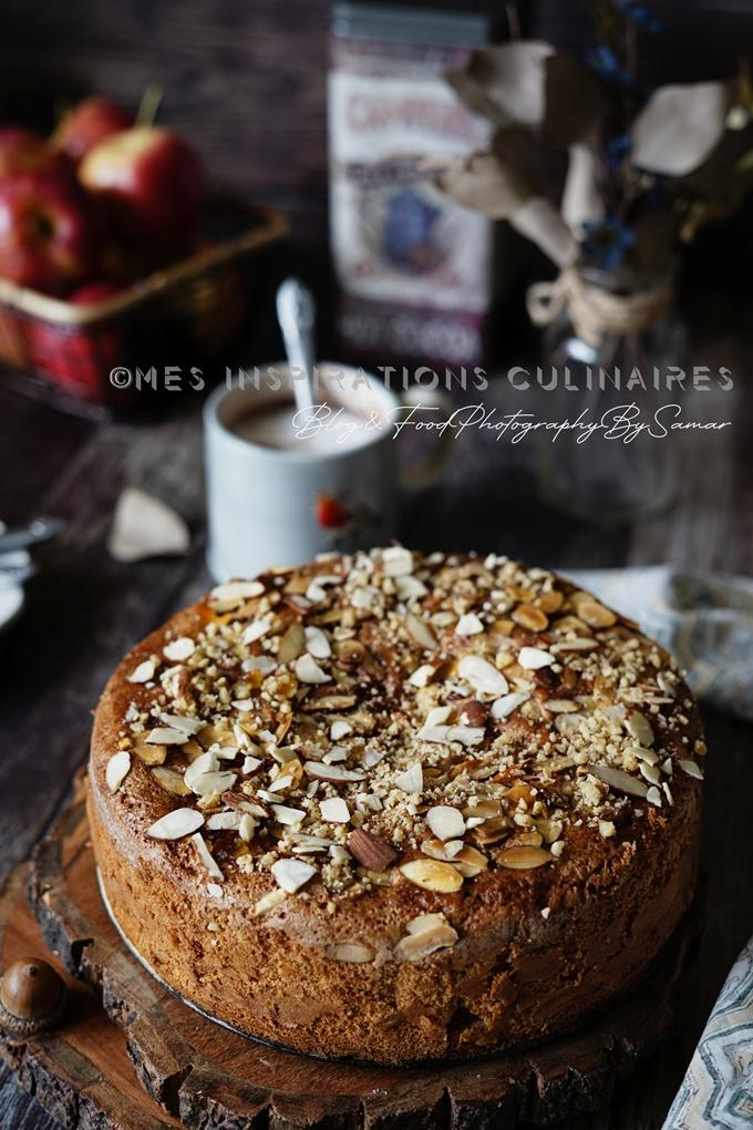 Gâteau aux pommes sans beurre facile
