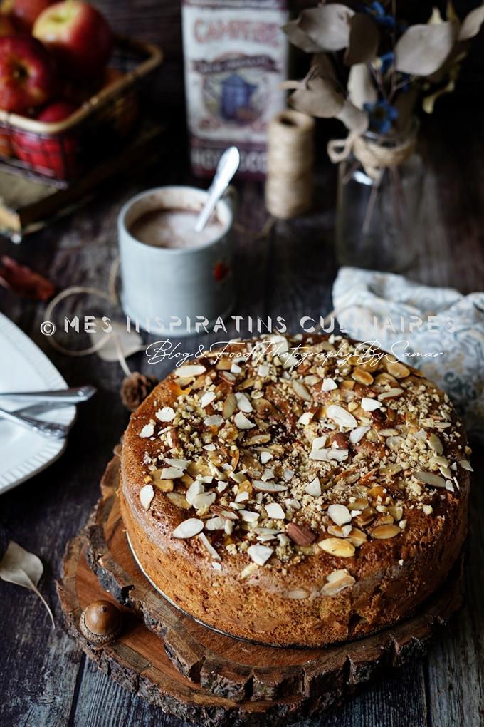 Gâteau aux pommes sans beurre