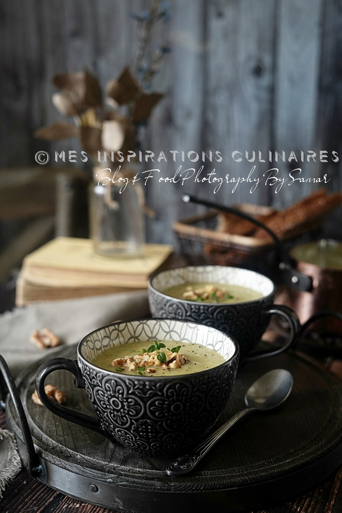 Recette soupe salsifis facile