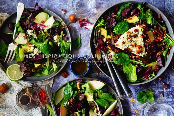 Recette salade d'hiver saine