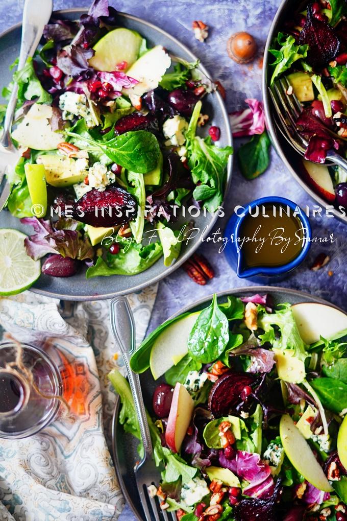 Recette salade d'hiver sirop d'erable