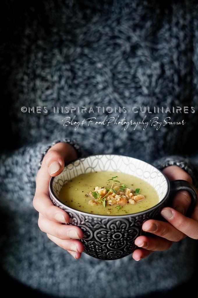 Soupe salsifis poireaux et pomme de terre