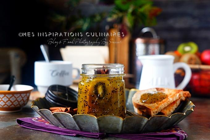 confiture de kiwi : recette maison