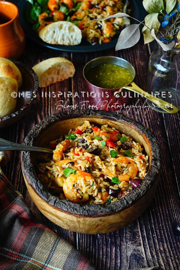 Riz aux crevette cuisine dominicaine